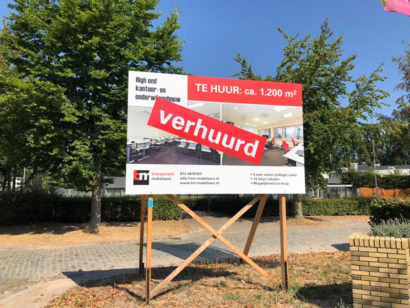 Bedrijfspand verhuren Tilburg en Omgeving